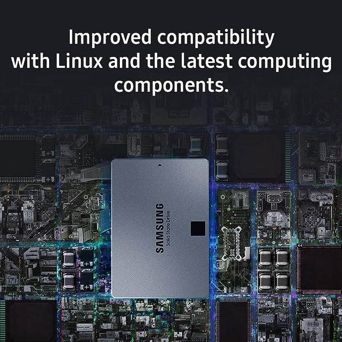 SAMSUNG 三星 860 QVO 1TB 2.5英寸 SATAIII SSD固态硬盘 MZ-76Q1T0B 6折$89.99史低 海淘转运到手约¥639