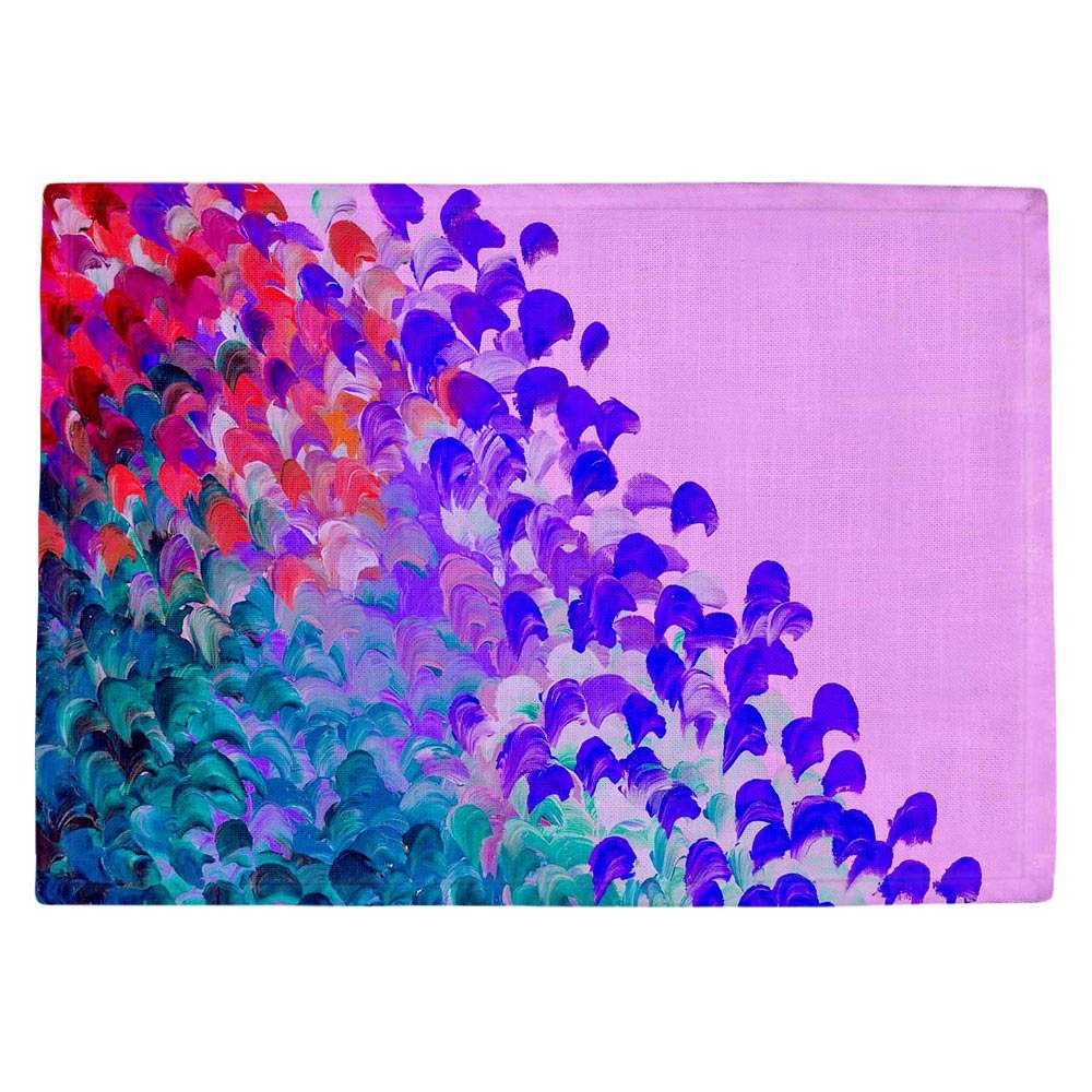 DIANOCHEキッチンPlaceマットby Julia Di Sano – CreationカラーでVery Berry Set of 4 Placemats PM-JuliaDiSanoCreatColorVeryBerry2 Set of 4 Placemats  B01EXSGTSG