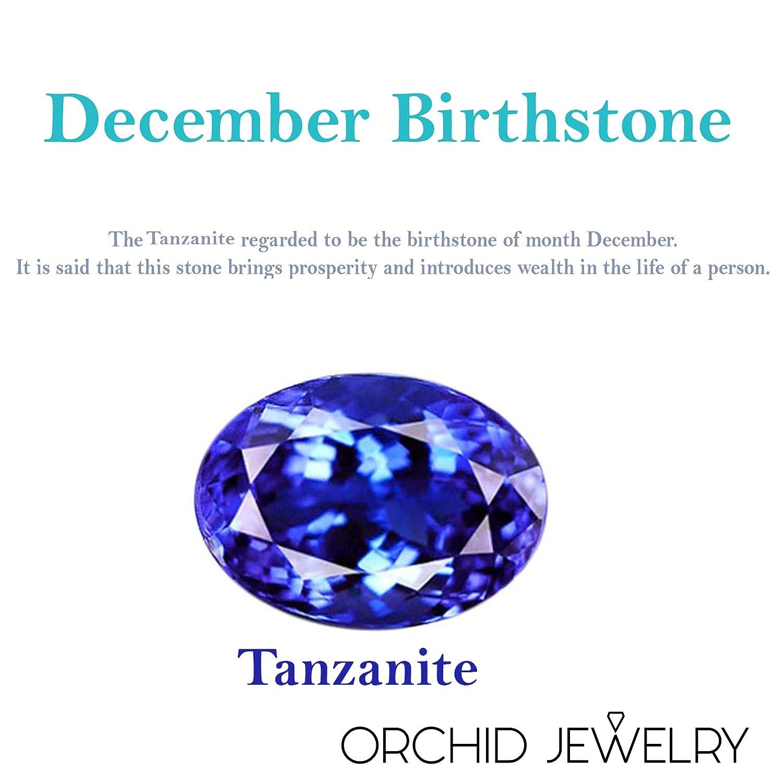 1.40 Carat Weight Genuine Tanzanite Rhodium Finish Ring in Brass