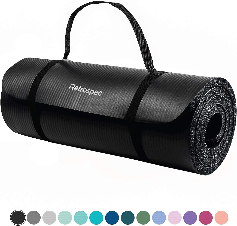 Amazon.com: Retrospec Solana - Esterilla de yoga de 1 ...