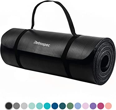 Amazon.com: Retrospec Solana - Esterilla de yoga de 1 ...