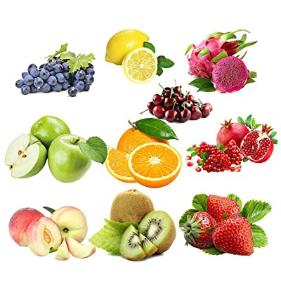 10 Varieties Mixed Fruit Seeds Organic Fruit Tree Seeds Sweet Candied Fruit Non (10, Vegetables) : Garden & Outdoor