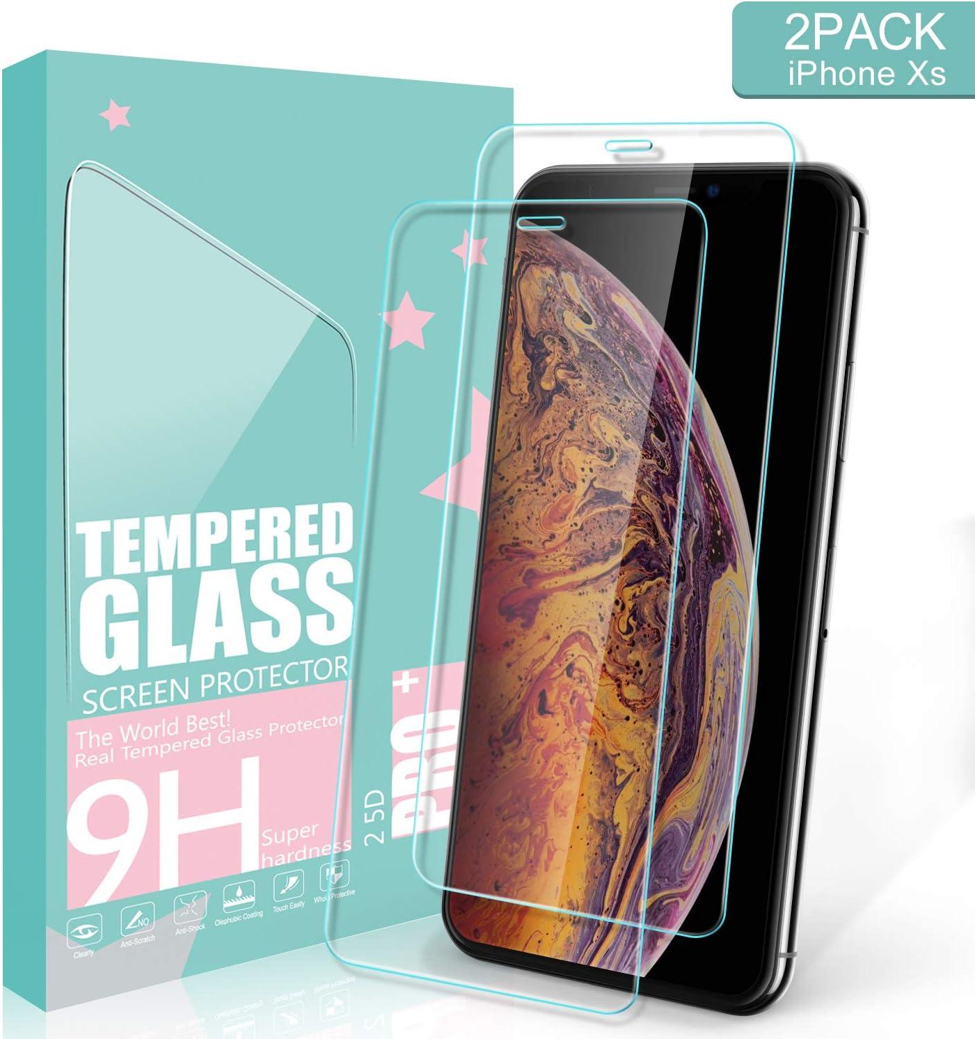 Ultra Transparent 1 Pi/èces GIMTON Verre Tremp/é pour iPhone 6 //iPhone 6s //iPhone 7 //iPhone 8,Ultra Mince 9H Protection en Verre Tremp/é /Écran pour iPhone 6 // 6s // 7//8 sans Poussi/ère