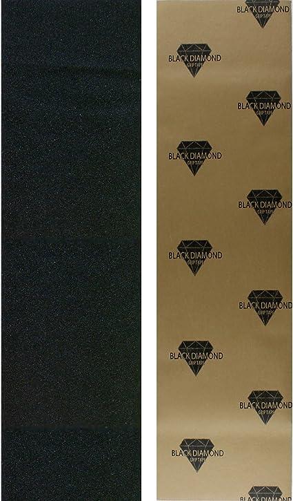 Black Diamond Longboard Skateboard Grip Tape Sheet 10 x 48