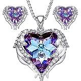 CDE Angel Wing Swarovski Jewelry Set Women...