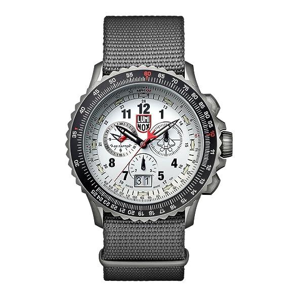 Luminox F-22 RAPTOR XA.9249 Reloj de pulsera Cuarzo Hombre correa de Nailon