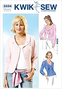 Kwik Sew Patterns ~ All Patterns are Size 34-52 ~ ~ ~ Listing 3313