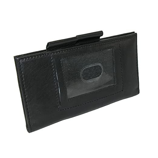best website c6bad 539a4 Paul & Taylor Leather ID Checkbook Cover and Card Holder