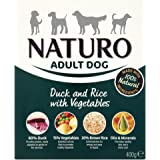 Naturo Wet Dog Food Adult Duck and Rice 400 g(pack of 10)