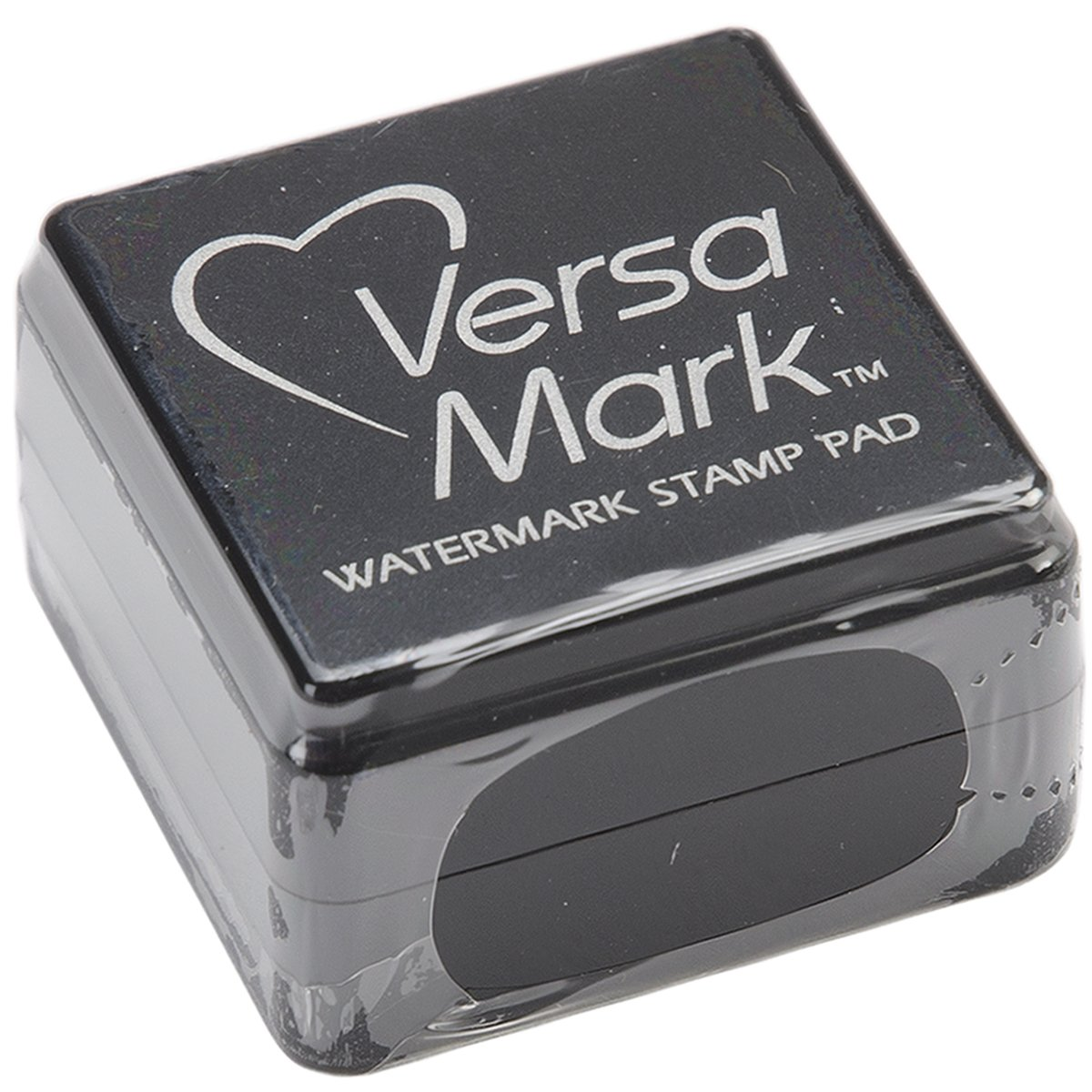 Tsukineko Small-Size VersaMark Pigment Inkpad, Clear