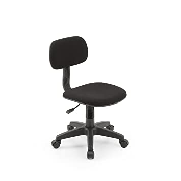 Amazoncom Hodedah Armless Task Chair with Adjustable Height and