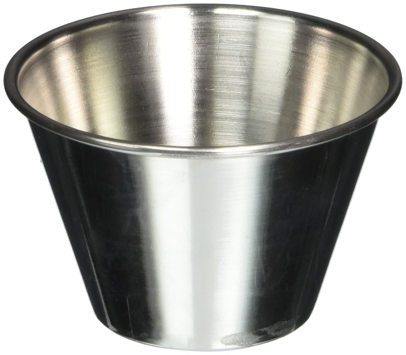 American Metalcraft Stainless Steel Sauce Cup, 4 Ounce - 1 each.