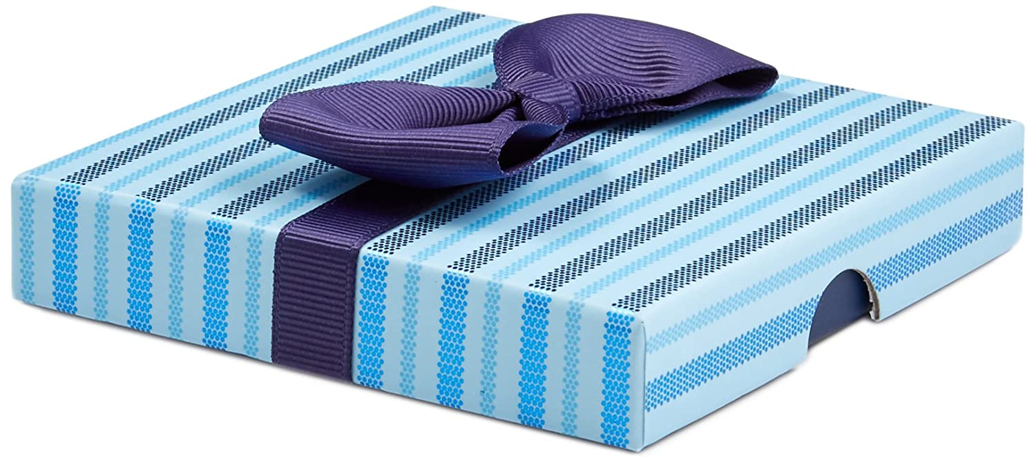Gift Card in a Blue Bow-Tie Box