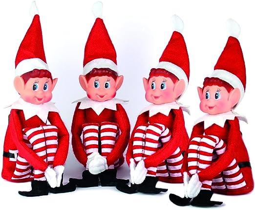 Elves Behaving Badly Doll Naughty Boy Girl Christmas Elf Toy Elf On Shelf