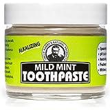 Uncle Harry's Mild Mint Remineralizing Toothpaste   Natural Whitening Toothpaste Freshens Breath & Promotes Enamel   Vegan Fl