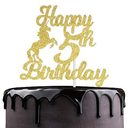 Super Hi Five Cake Topper Five Cake Topper 5Th Birthday Cake Topper Personalised Birthday Cards Paralily Jamesorg