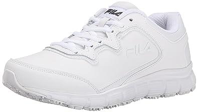 615090e9ff Fila Women's Memory Fresh Start Slip Resistant Work Shoe