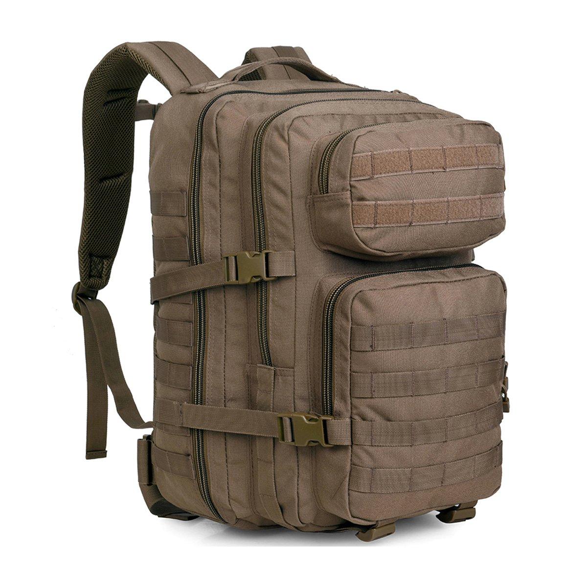 wideway Tacticalバックパック50l MilitaryアウトドアAssault Gear Large Molle Hydrationタクティカルギア  50L Coyote B06XCMKVBD