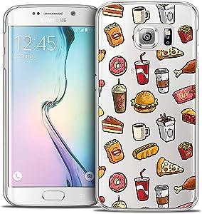 Samsung Galaxy S6 Edge Case, Ultra Slim Foodie Fast Food Case