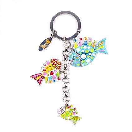 Amazon.com: Yayoi Kusama - Llavero con diseño de pez: Toys ...