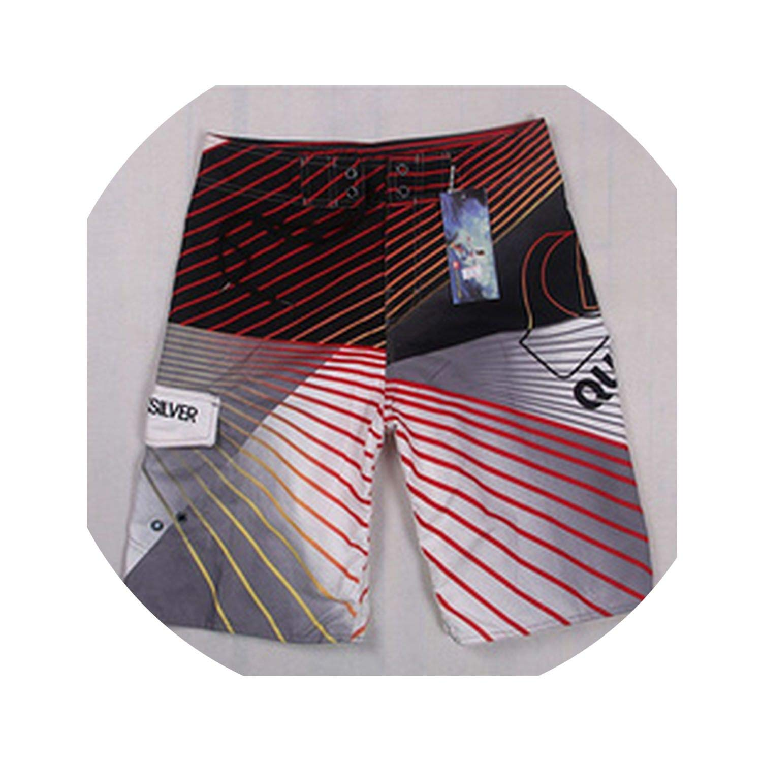 haode Summer Board Beach Movement Sports Shorts Pants Short Homme for Men Running Swimming Surfing Trunks 1 36