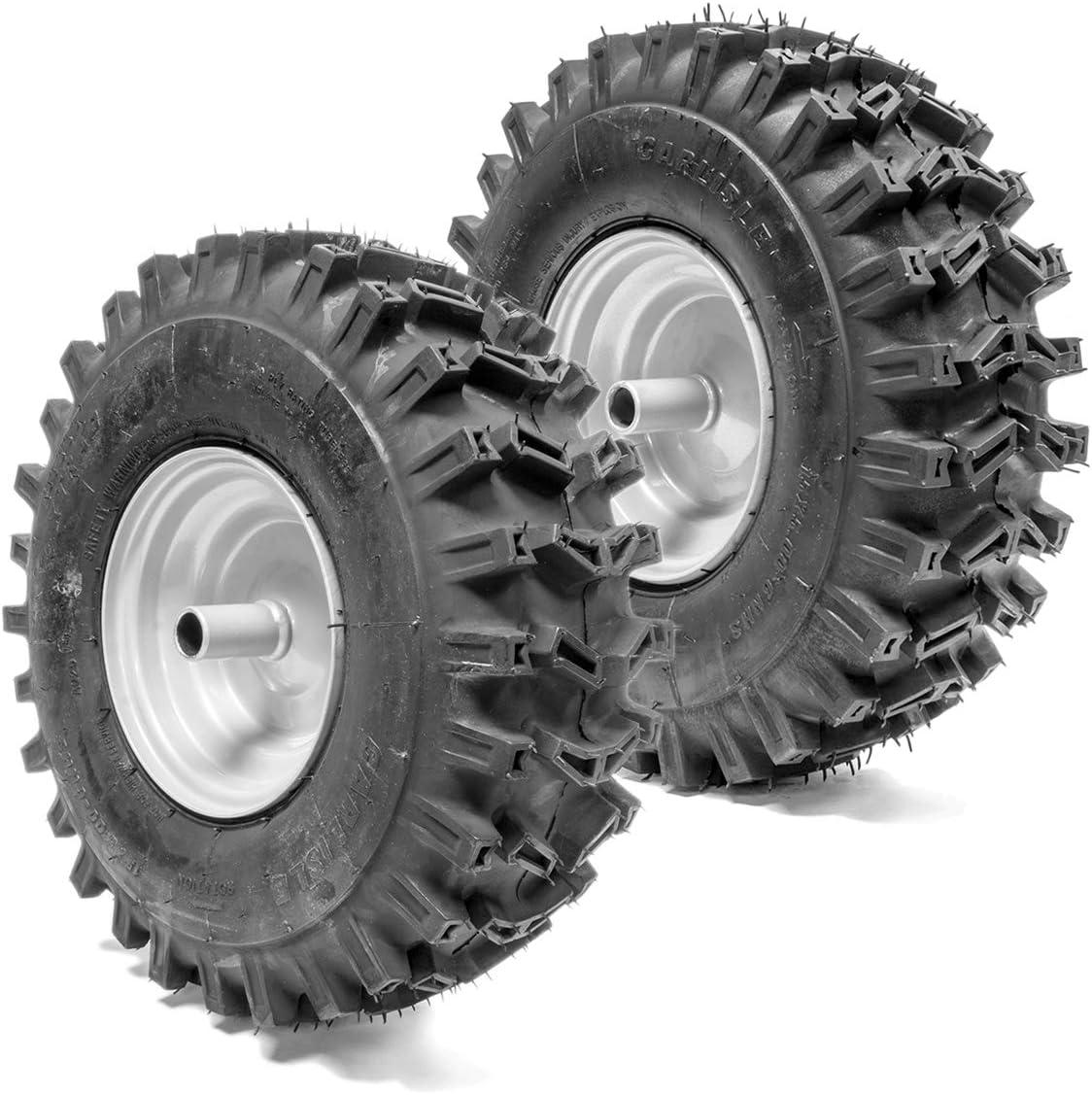 2PK 15x5.00-6 Carlisle X-Trac 2PR Snow Blower Tire /& Wheel Assembly Snow Hog