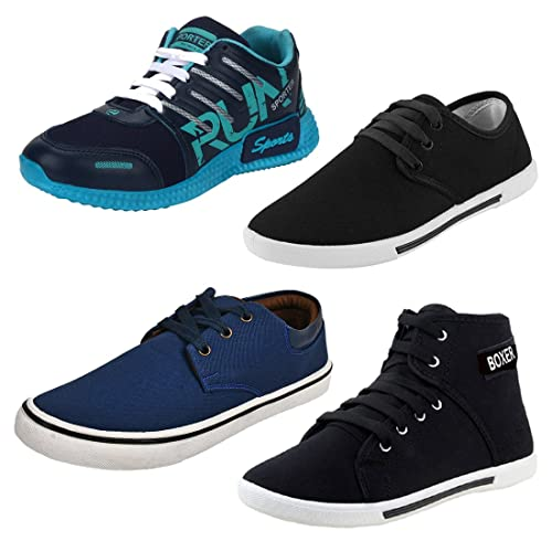 Super Men Combo Pack of 4 Sports Shoes