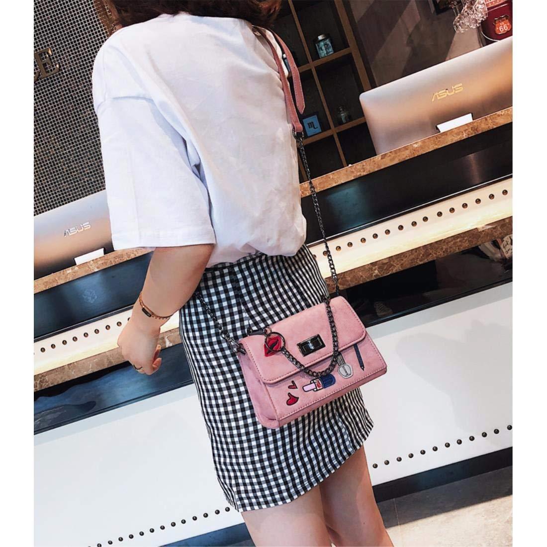 HAPPY-BAG Mode Mode Mode modern Innenraum Kette Koffer, Handtaschen, Schulranzen, Mode - Single umhängetasche B07GTJ9CM4 Umhngetaschen Günstiger d64828
