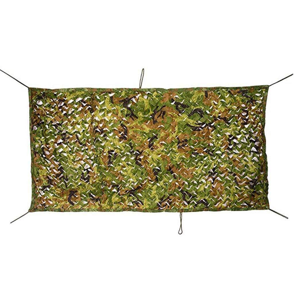 迷彩ネット釣り屋根車の植物カバー日焼け止めネット日焼け止めキャンプ軍事狩猟射撃ブラインドウォッチング非表示パーティー装飾 ZHAOFENGMING (Color : 緑, Size : 10M×10M) 緑 10M×10M