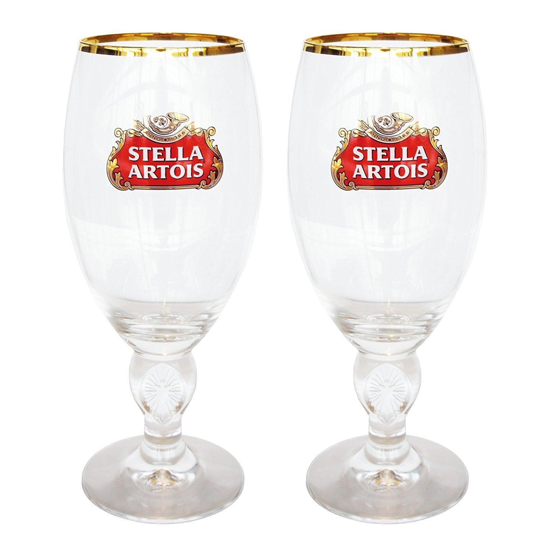 Stella Artois 40 Cl Beer Glasses Set of 2 Home Brew Stuff STELLA40CLX2