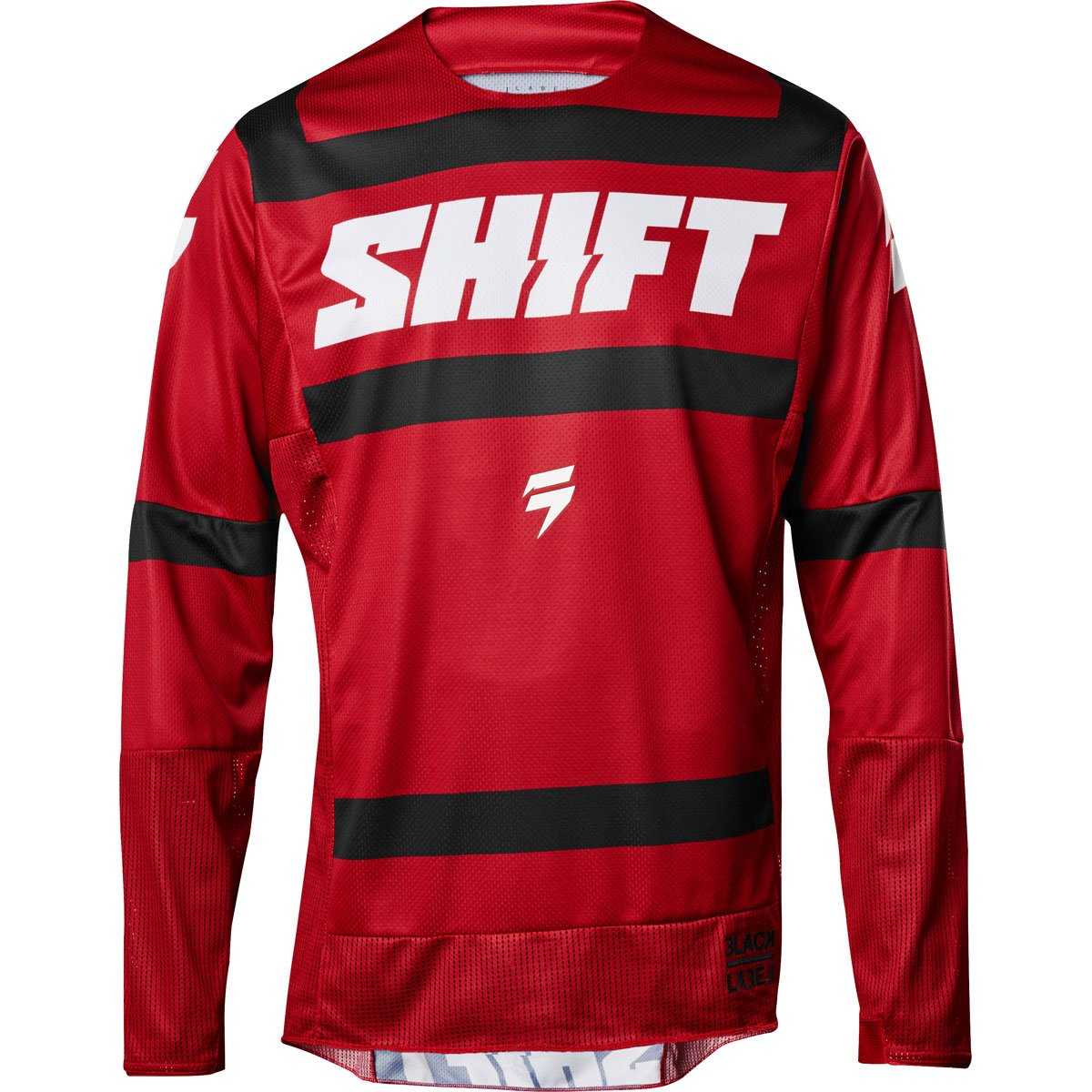 2018 Shift Black Label Strike Jersey-Dark Red-L