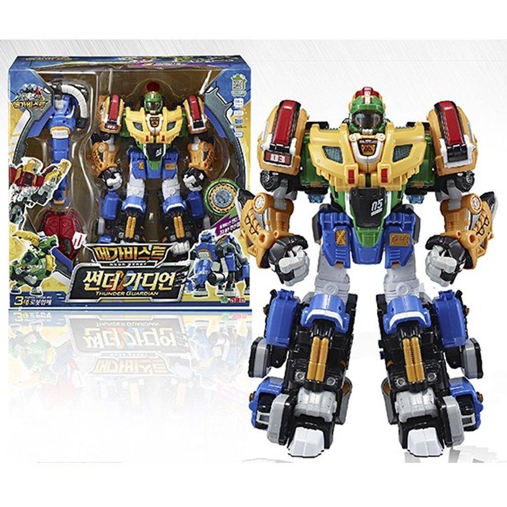Young Toys Biklonz Thunder Guardian 3 Copolymer Toy Robot Transforming Robot B017EF5O7M