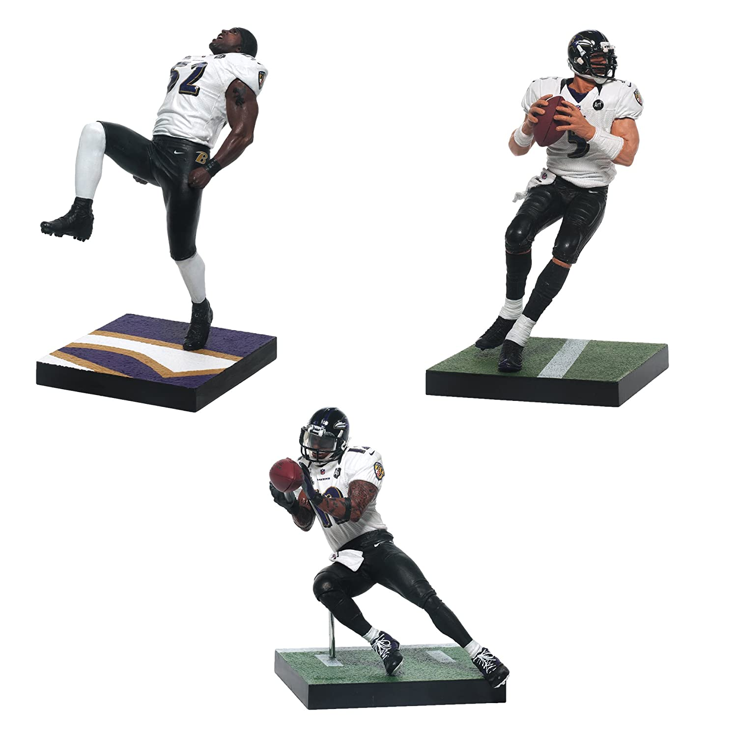 amazon com mcfarlane toys baltimore ravens nfl super bowl action