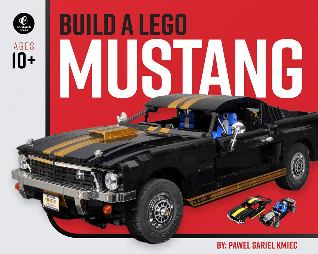 Build a lego mustang paperback august 6 2019