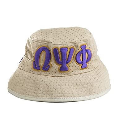 Image Unavailable. Image not available for. Color  Omega Psi Phi Bucket Hat  ... ff998f96efb