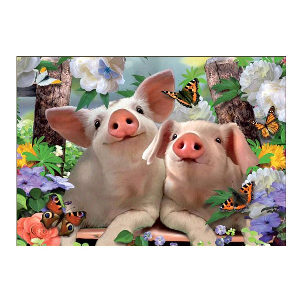 Cute Pig 5D Diamond Painting DIY pittura a punto croce ricamo Home Decor kit Zohong