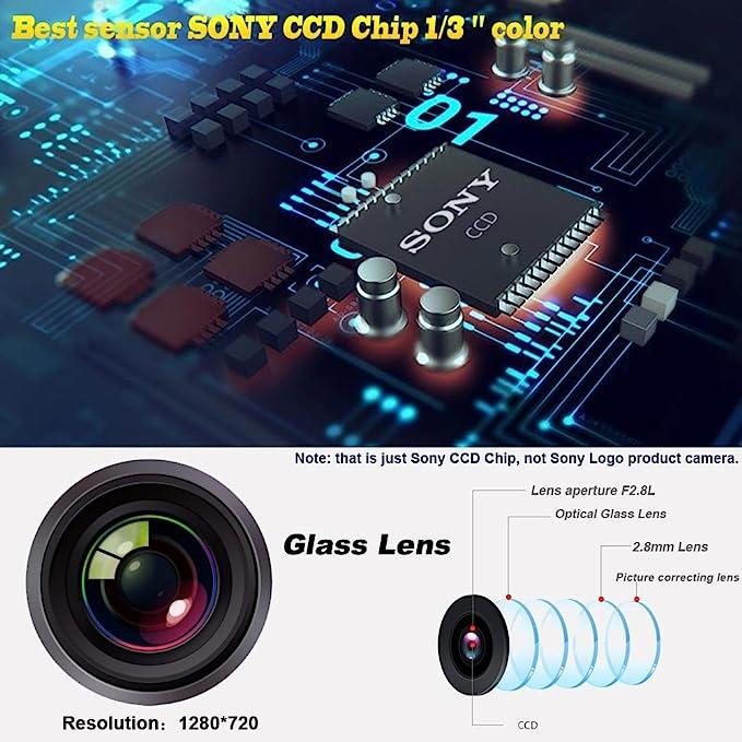 Navinio Rückfahrkamera In Kennzeichenleuchte 170 Elektronik
