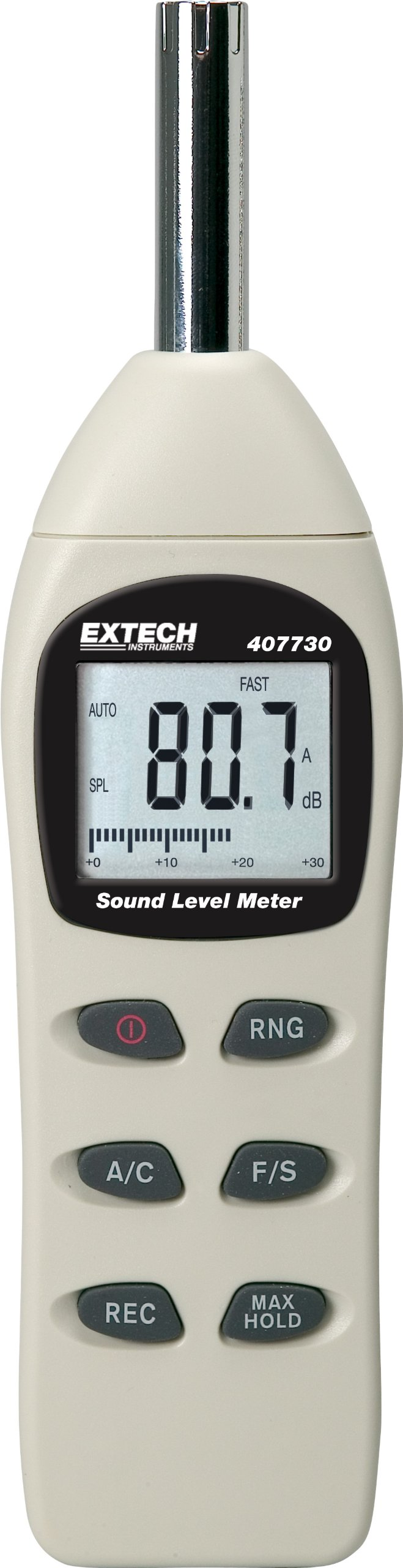 Extech 407730 Digital Sound Level Meter 40-130dB by Extech