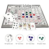 Ecisi Big Chess Board Game Table Game Pattern Patrón Deluxe ...