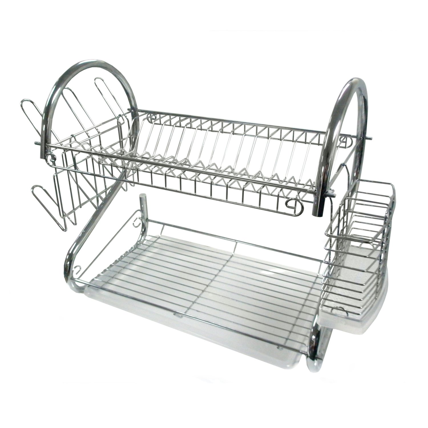 Kitchen Dish Rack Amazoncom Better Chef Dr 22 Chrome 2 Tier Dish Rack 22 Inch