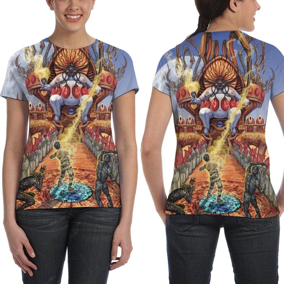The Black Dahlia Murder 3D Printed Classic Women Round Neck Short Sleeve Tshirts