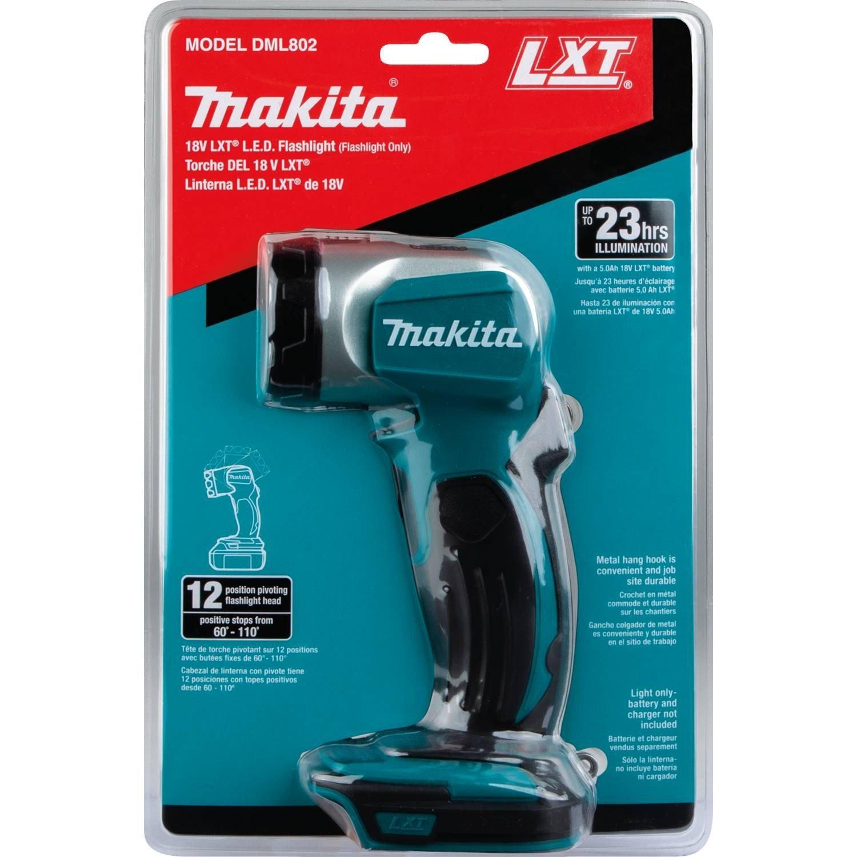 Makita DML802 18V LXT Lithium-Ion Cordless Led Flashlight with Bare Tool