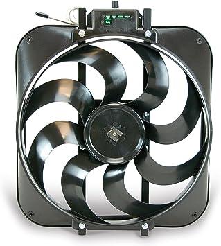 Amazon.com: Flex-a-lite 160 Black Magic Electric Fan Blade: Automotive   Adjustable Radiator Fan Wiring Diagram Fan Control A Flex      Amazon