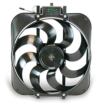 amazon com flex a lite 160 black magic electric fan blade automotive flex a lite 160 black magic electric fan blade