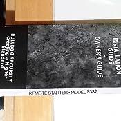 Amazon.com: Bulldog RS82-I Do It Yourself Remote Starter - Automatic on
