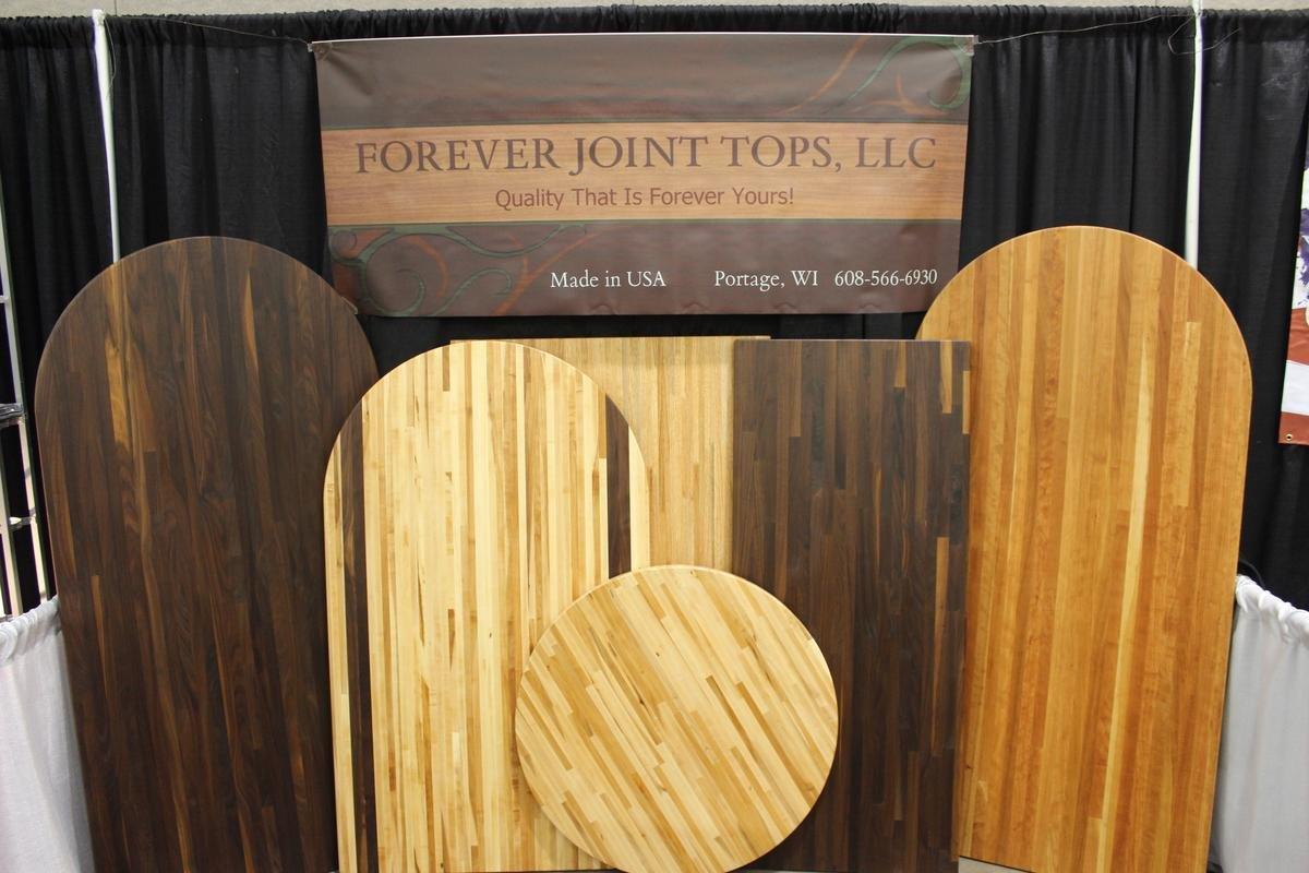 Forever Joint 12'' x 72'' Red Oak Custom Shelf