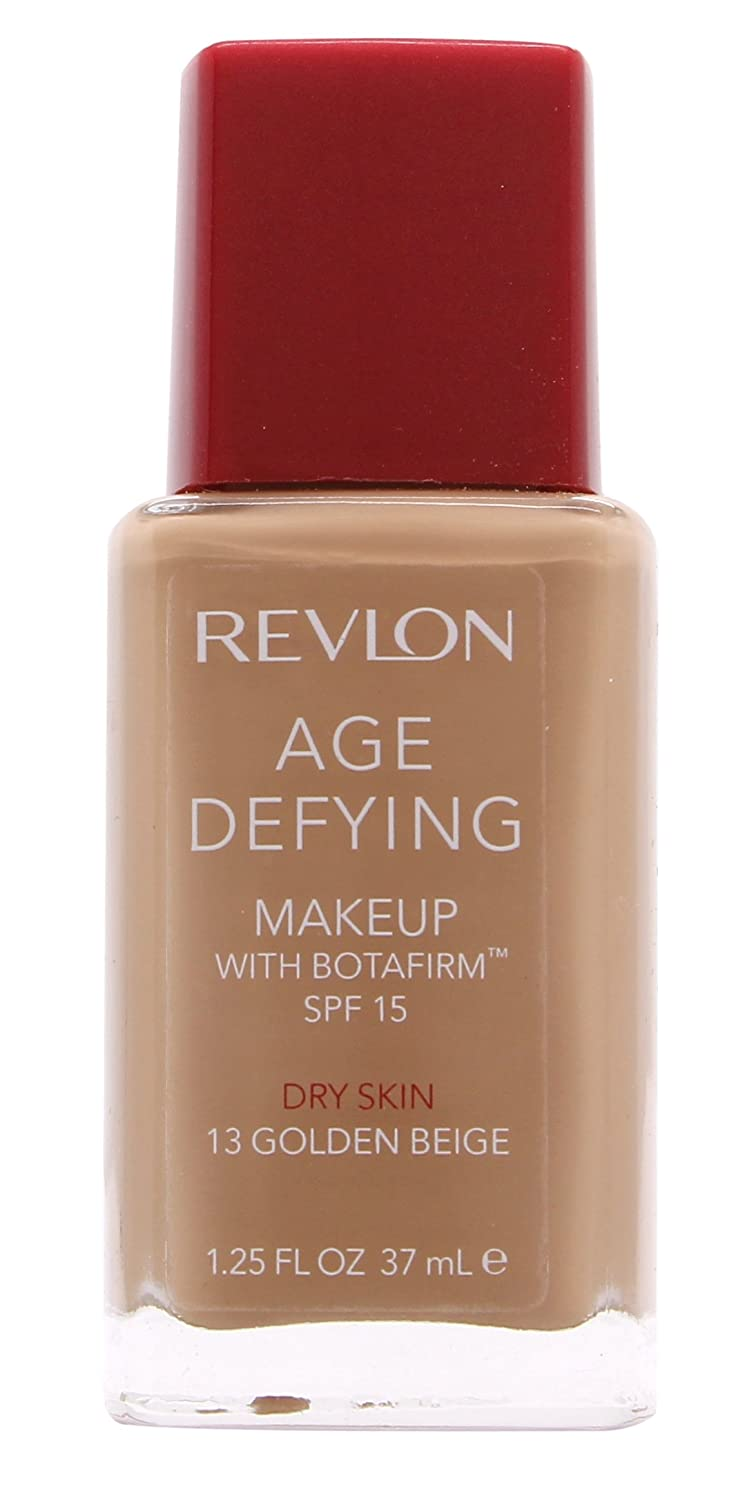 Revlon Age Defying Makeup with Botafirm for Dry Skin, Golden Beige, 1.25 Ounce