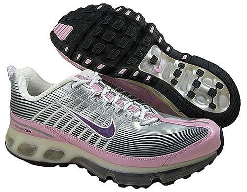 ecad937b78e6 Nike Womens Air Max 360 Metallic Silver Purple-White-Pink Shoe US 11.5   Amazon.ca  Shoes   Handbags