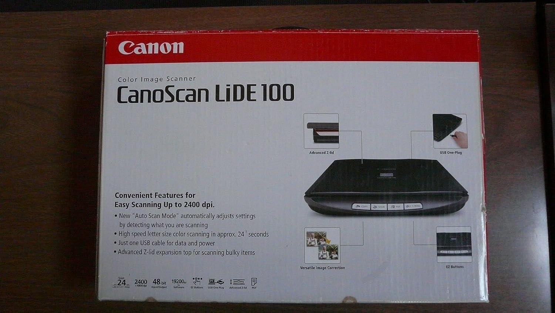 CANOSCAN LIDE 100 WINDOWS 8.1 DRIVERS DOWNLOAD
