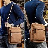 XINCADA Mens Shoulder Bags Man Purse Canvas Small